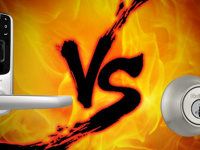 """Security Showdown: Smart Locks vs. """"Dumb"""" Locks"""