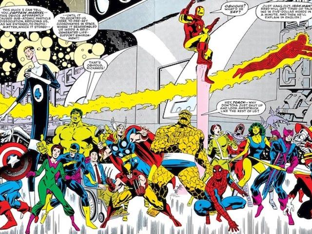 I segreti più pazzi dei fumetti delle Secret Wars originali della Marvel