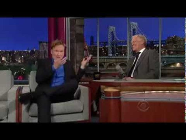 Conan O Brien Interview Letterman