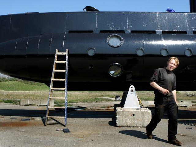 El inventor del submarino acusado de homicidio envió mensajes describiendo el asesinato días antes