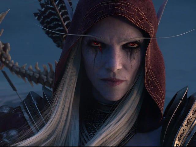 Thế giới mở rộng tiếp theo của Warcraft, Shadowlands, đưa người chơi vào thế giới bên kia