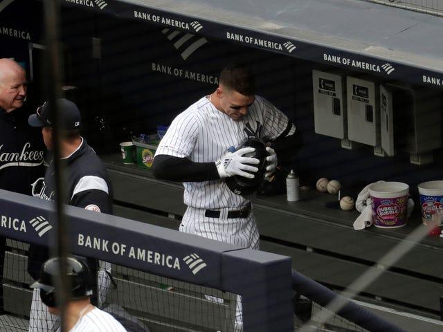 Aaron Judge diventa un altro nome su una lunga lista di Yankees feriti