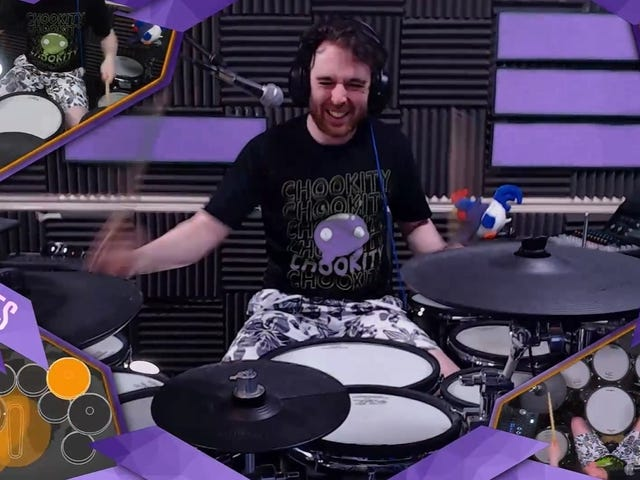 Drumming On Twitch Helps Successful Streamer Control His Tourette's