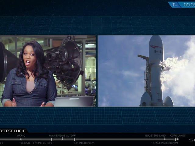 Falcon Heavy Launch in 2 Mins!