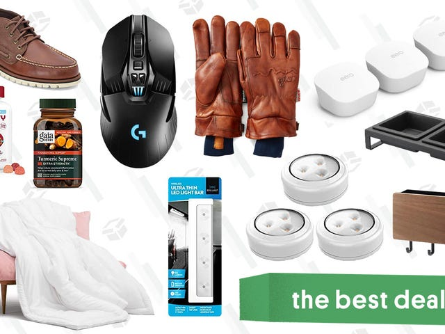 Friday's Best Deals: Yamazaki Gear, Logitech Gaming Mouse, Converse, and More