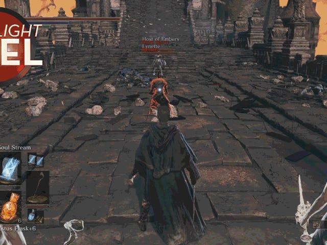 <i>Dark Souls</i>プレイヤーNuke Invaderデススタースタイル