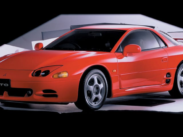 Have You Ever Owned A Mitsubishi 3000GT, The Most Overcomplicated Car Of The '90s?