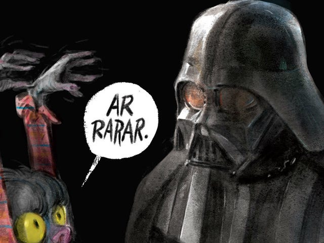 Lovely Children's Book Tries to Figure Out What Scares Darth Vader (Answer: Not Much)