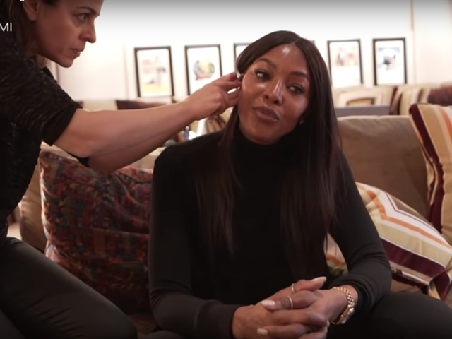 Naomi Campbell Is the Queen of Social Distancing