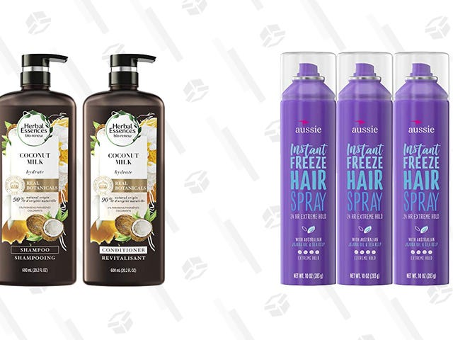 Let Your Hair Down With These Deals on Herbal Essences and Aussie Products