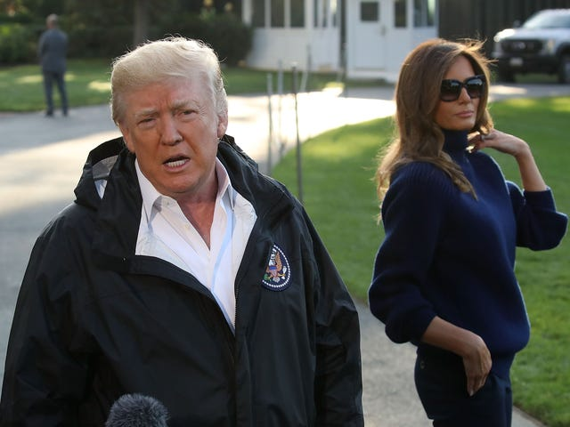 President Trump to Visit Puerto Rico for 5 Hours