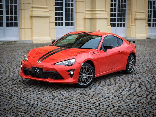 The New Toyota GT 860 Special Edition Is An Orange Reason To Not Buy The Subaru BRZ