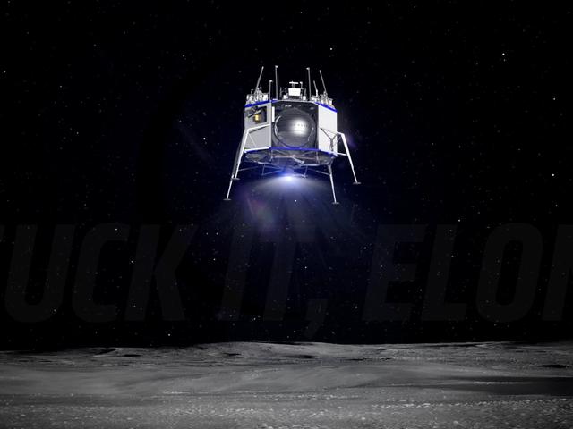 Jeff Bezos' Lunar Lander Is a Modular Multipurpose Landing System