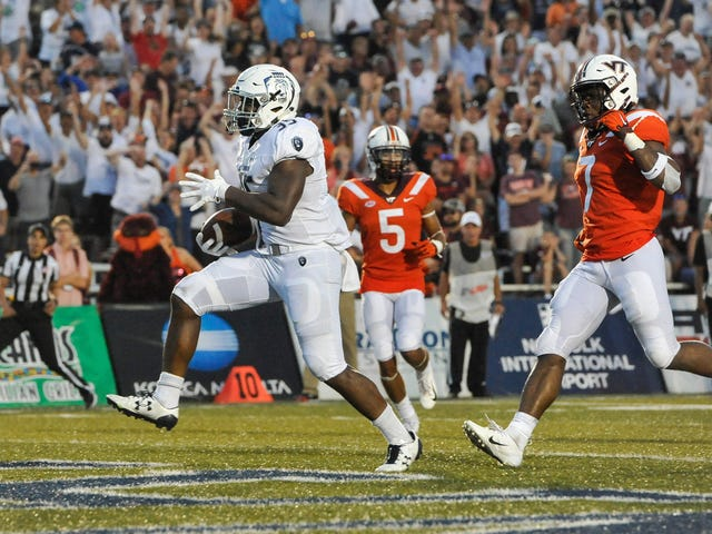 For One Quarter, Old Dominion's Jeremy Cox Was The Most Exciting Back In College Football<em></em>