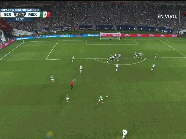 Mexiko Marco Fabián Scored En Beautiful, Futile Golazo