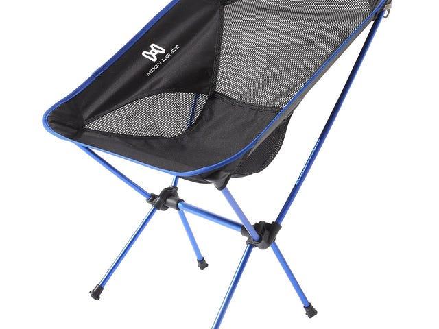 Moon Lence Compact Ultralight Portable Folding Camping Backpacking Chairs dengan Carry Bag $ 23.99 @Amazon