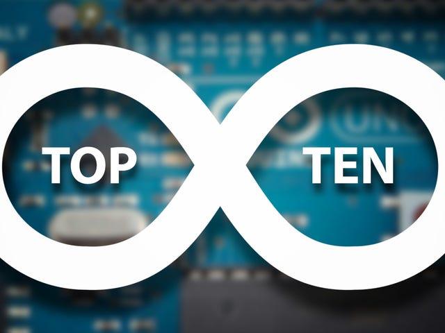 トップ10 Kickass Arduinoプロジェクト