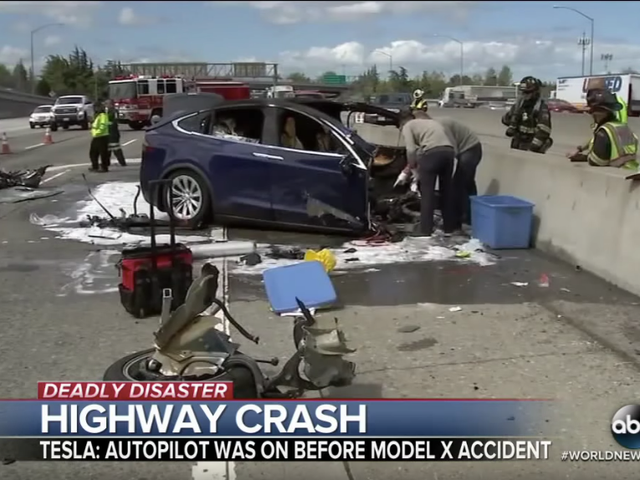 Tesla Battery Reignited Days After Fatal Model X Crash: Report