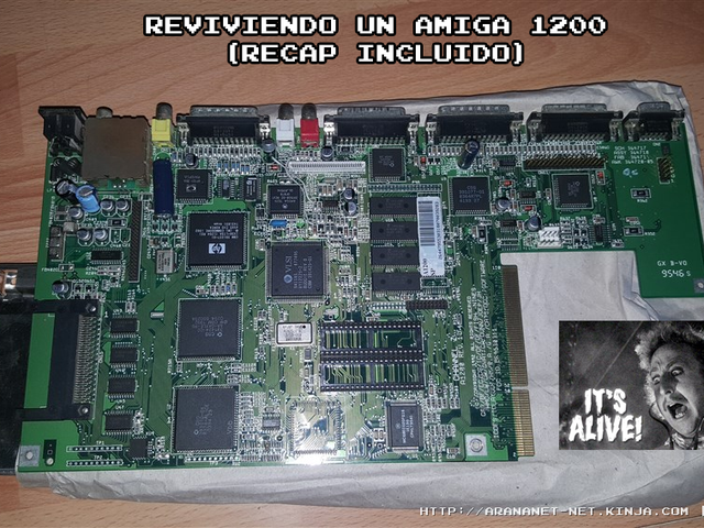 REVIVIENDO UN AMIGA 1200 (recap incluido)