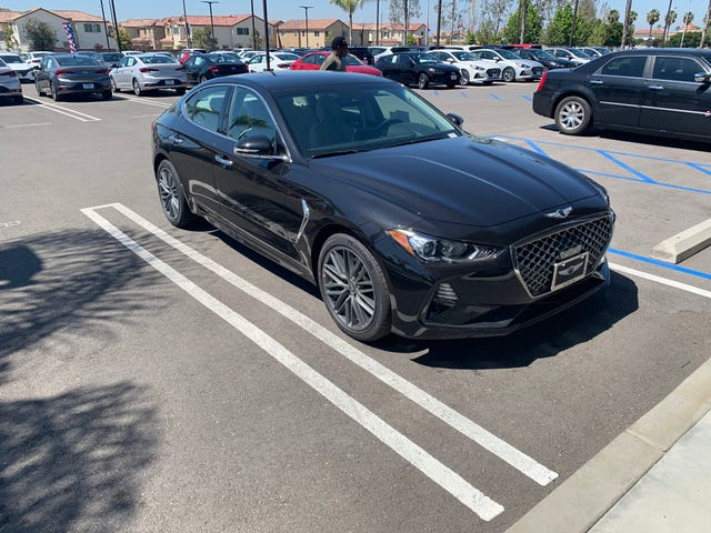 I finally drove a Genesis G70. It was fantastic.