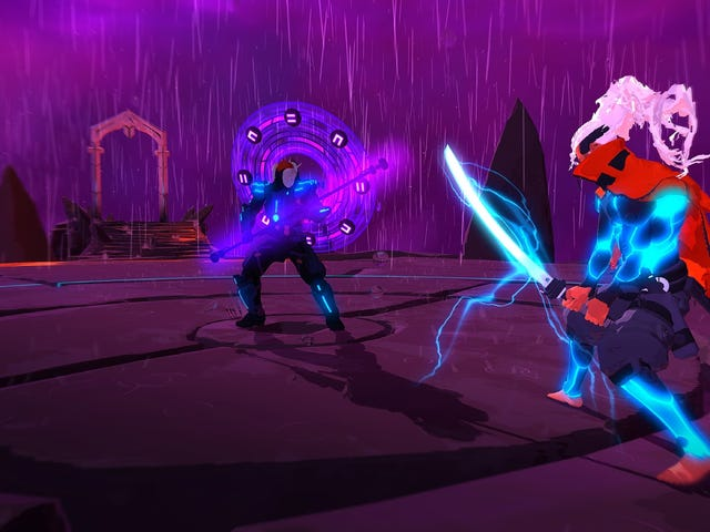 Download the Boss Fight Bonanza That Is Furi For Just $12