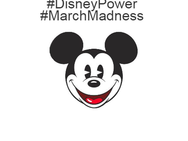 Presentes não produtivos.com #DisneyPower #MarchMadness!