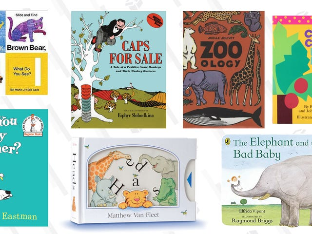 The Best Books For 1-2 Year Olds I've Bought (So Far)