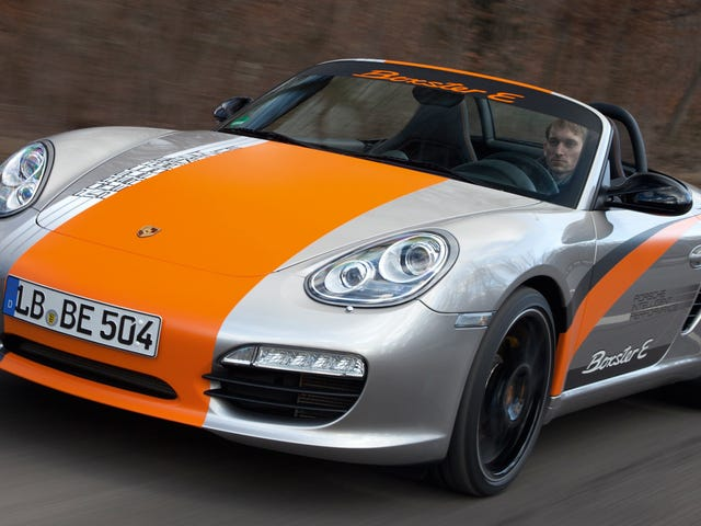Porsche denkt na of de Boxster wel of niet elektrisch moet gaan