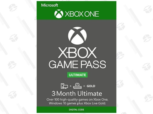 Xbox Game Pass Ultimate Gives You Free Games and Xbox Live, Get Three Months for $21