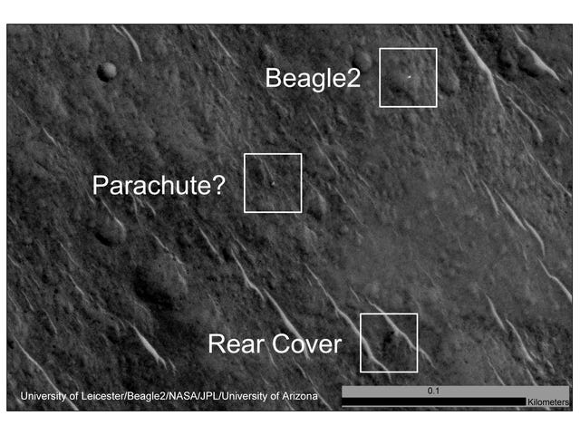Europa's eerste Mars Lander kwam 'Excruciatingly Close' tot succes