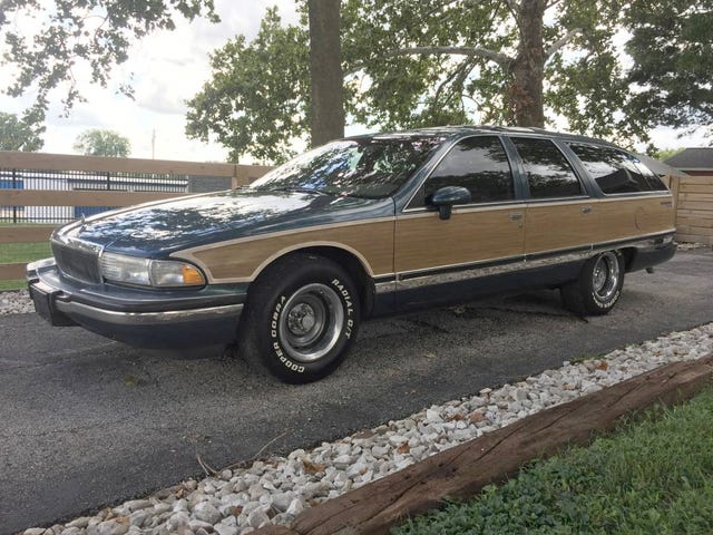 At $6,000, Would You Master the Road in This 1994 Buick Roadmaster?
