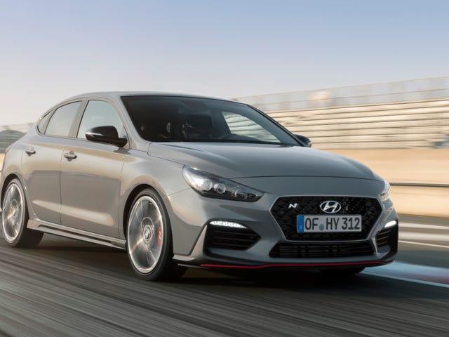 Hyundai i30 N Fastback pokazuje, jak dużo chłodniejszego Hyundaia jest w Europie