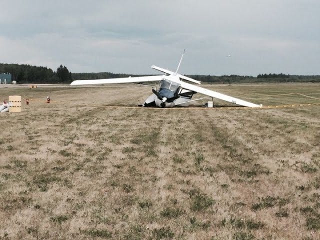 Trying Again - Float Plane Crash Landing After Fatal Midair With 172