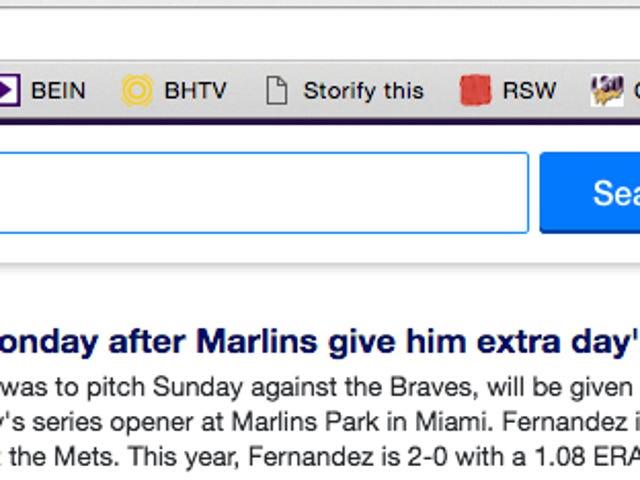 C'est sur la page d'accueil de Yahoo! dès maintenant