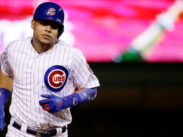 The MLB Narcs Have Come For Willson Contreras And His Venezuela Sleeve