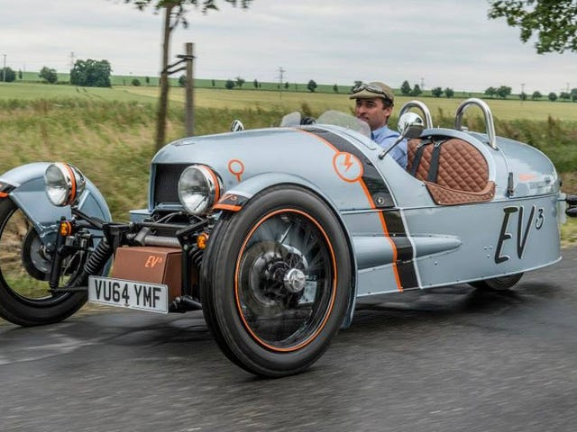 Morgan's Electric 3-Wheeler Will Have Up To 150 Miles Of Range