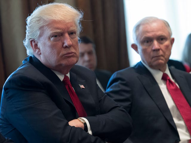 Trump Informs America, Once Again, That He Regrets Hiring Jeff Sessions
