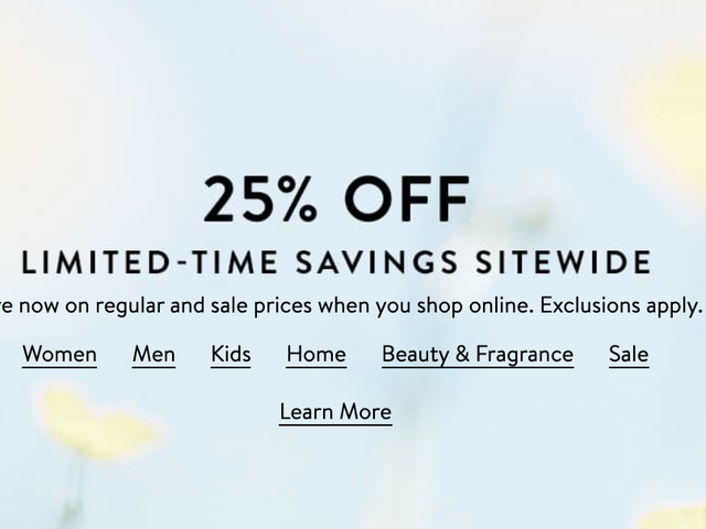 Nordstrom Is Having a Site-wide Sale and Your Favorite Brands Are 25% Off