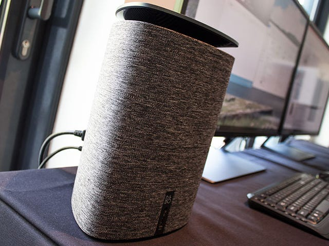 HP Put a PC Into a 360-Degree Speaker