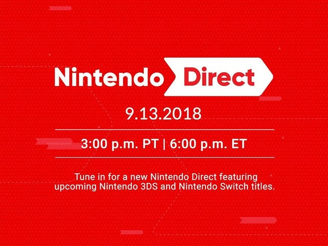 Watch The Nintendo Direct Here