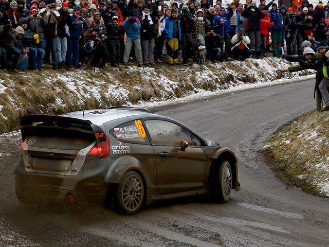 Rallye Monte Carlo lyhennettiin, koska Holy Crap Crazy Fans kaikkialla