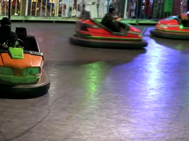 Saudi Arabian Women, Banned From Driving, Find Loophole In Bumper Cars