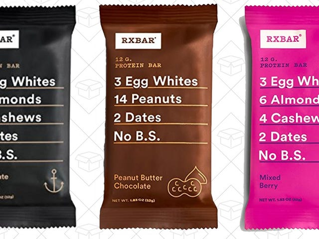 Amazon Will Ship You a Free RXBAR, Plus a $2 Granola Credit. Sure, Why Not?