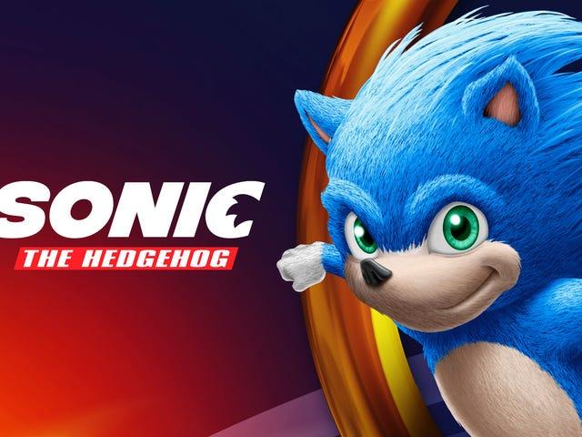 Это, вероятно, версия фильма Sonic The Hedgehog