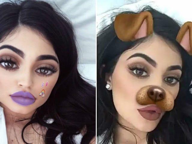 Hay jóvenes operandose para perecerse ein sus filtros favoritos de Snapchat