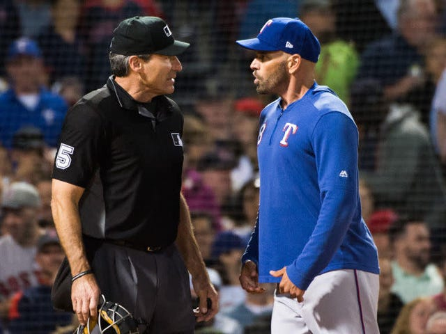 It's Getting Pretty Hard Not To Get Ejected From A Game Ángel Hernández Is Umpiring