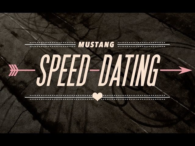 Speed ​​Dating Of the Best Kind