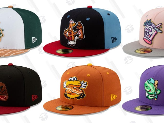 11 More Minor League Baseball Alternate Hats That We Really Love