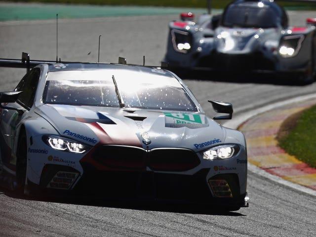 BMW og dens gigantiske M8 trækker ud af WEC efter Le Mans