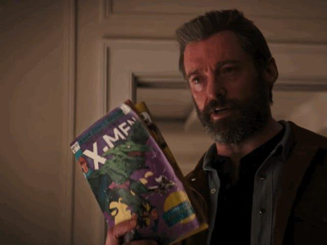 Wolverine enseña las garras y lee cómics de X-Men en al violento tráiler final de Logan